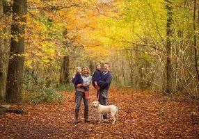 Leigh Woods Autumn photoshoot Bristol