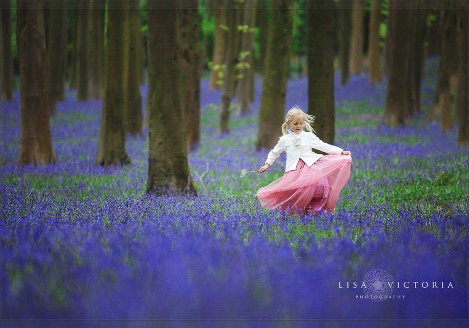 bluebell spring photoshoot bristol